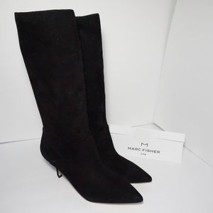 Marc Fisher LTD Dacey Pointed Toe Mid Calf Boot